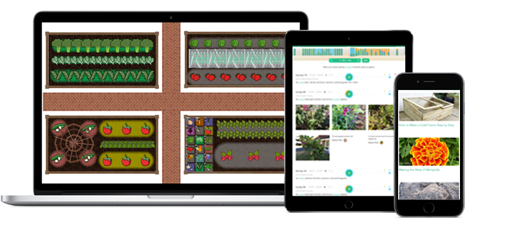 Vegetable garden planning apps