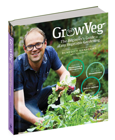 GrowVeg: The Beginner's Guide to Easy Vegetabel Gardening Book